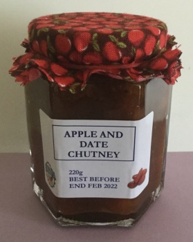 Apple and Date Chutney