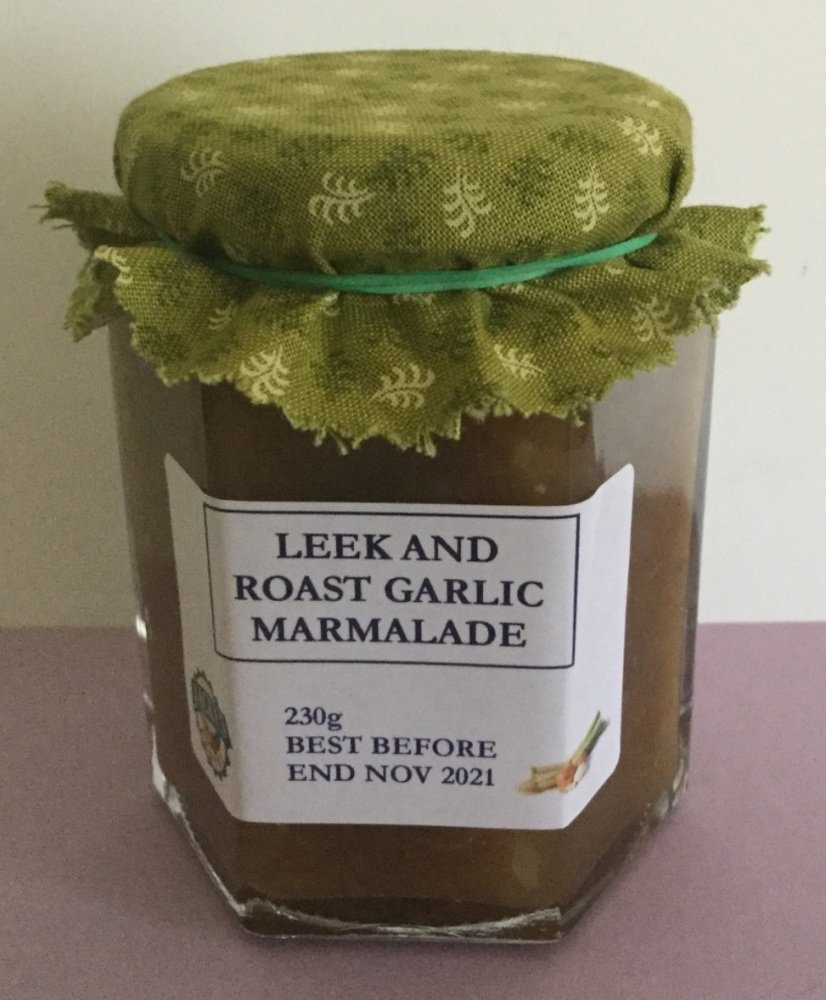Leek and Roast Garlic Marmalade