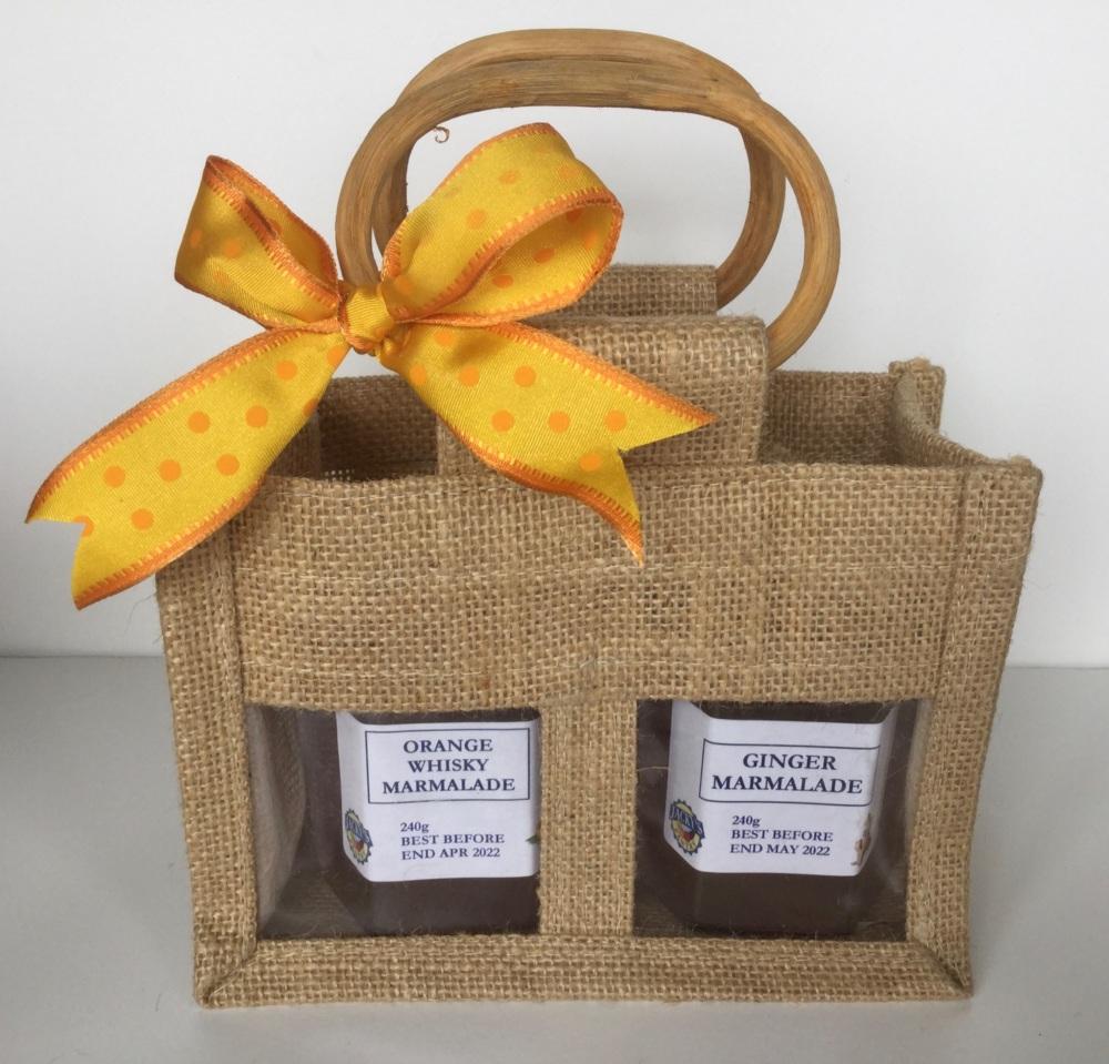 Marmalade Gift Bag - 2 jars