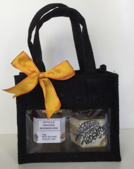 Standard Gift Bag - jam or marmalade and honey