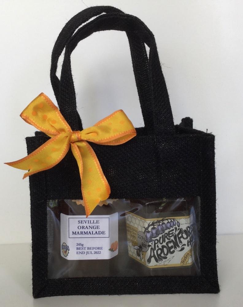 Standard Gift Bag - jam or marmalade and honey