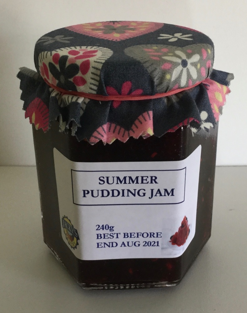 Summer Pudding Jam