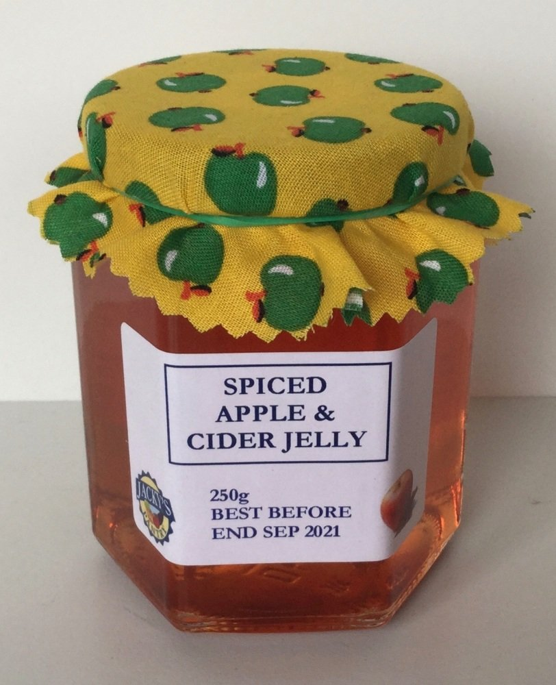Spiced Apple and Cider Jelly