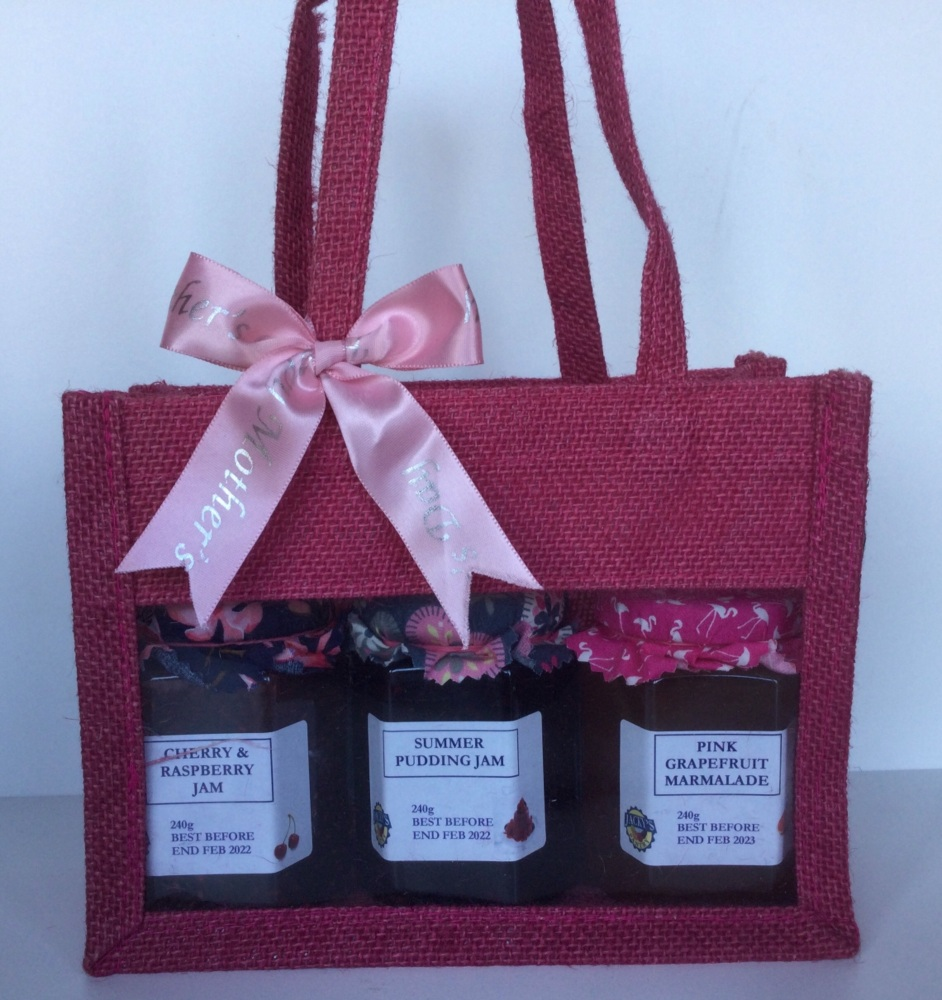 Mothers Day Gift Bag - 3 jars