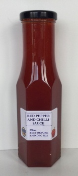 Red Pepper and Chilli Sauce/Jam