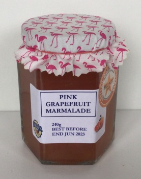 Pink Grapefruit Marmalade