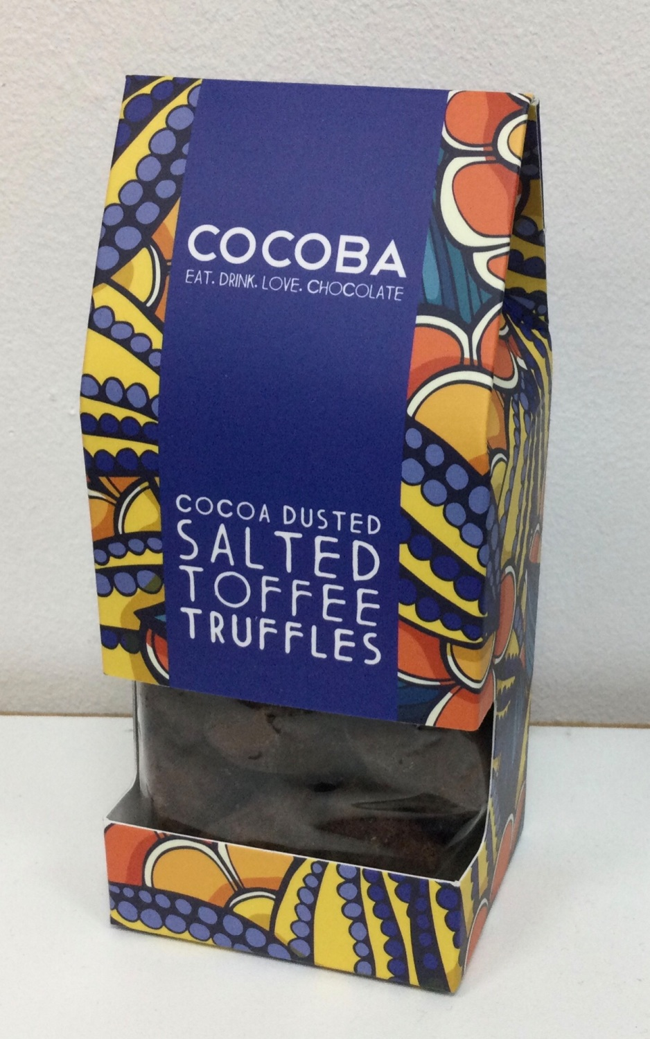 Salted Toffee Truffles