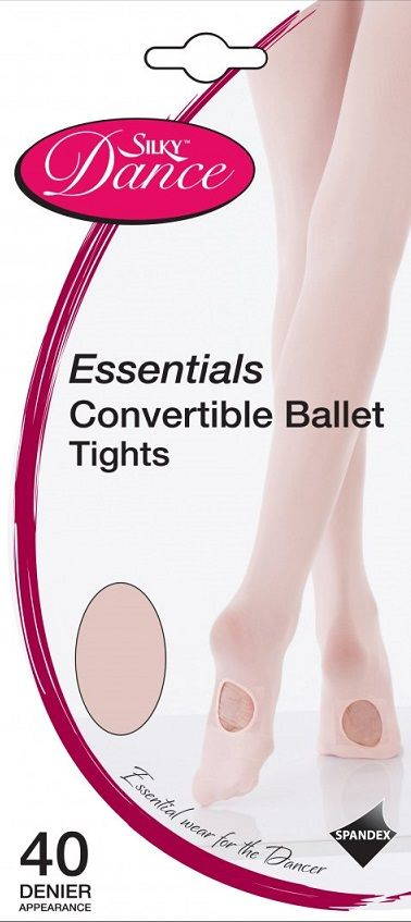 98a78fa6afabd Silky Essentials Convertible Adults Ballet Tights in Theatrical Pink