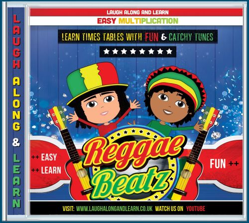 Reggae Beatz 2 - 12 Times Tables Songs AUDIO CD