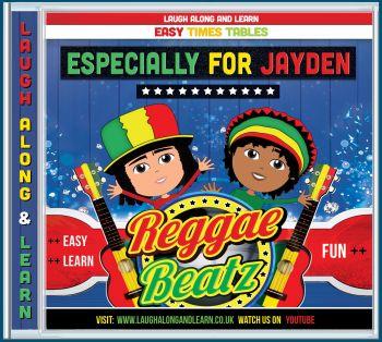 Reggae Beatz Personalised AUDIO CD (Songs 2 - 12) Order Any Name!