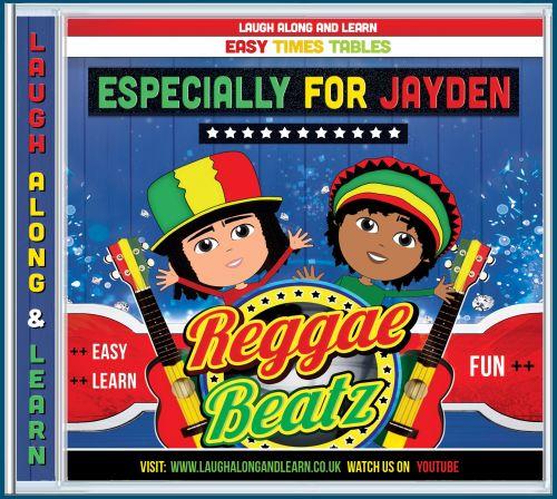 Reggae Beatz AUDIO CD - Songs 2-12 Order Any Name!