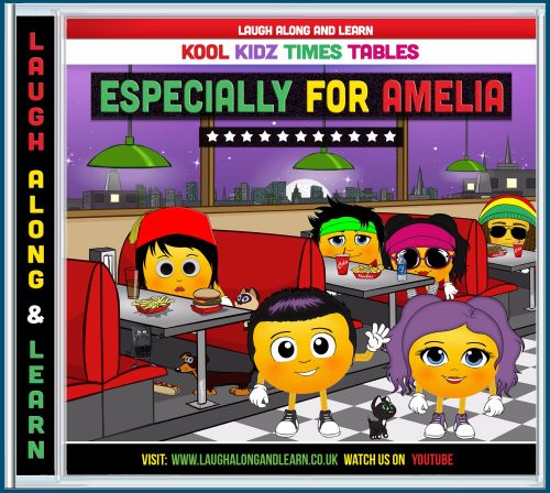Kool Kidz Personalised AUDIO CD (Songs 2 - 12)
