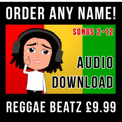 Times-Tables, Songs 2-12 (Reggae Beatz AUDIO)