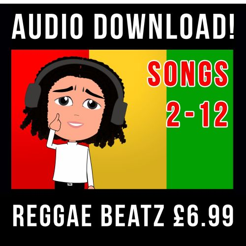 Reggae Beatz 2 - 12 Times Tables Songs AUDIO
