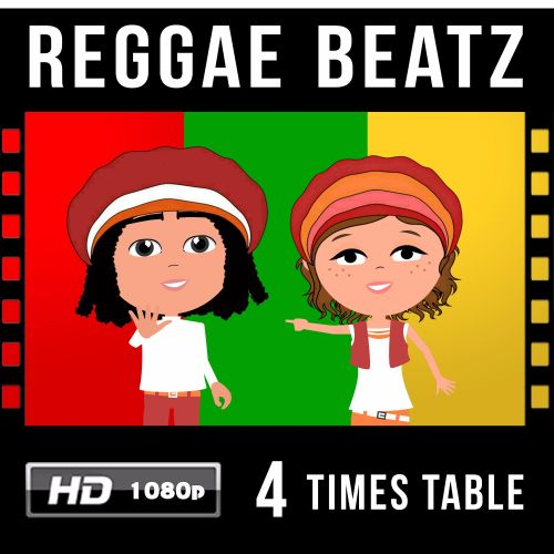 ✩ Reggae Beatz 4 Times Table Video Download