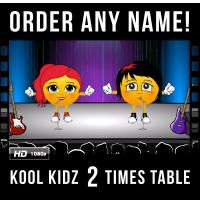 ✩ Kool Kidz Personalised 2 Times Table Video