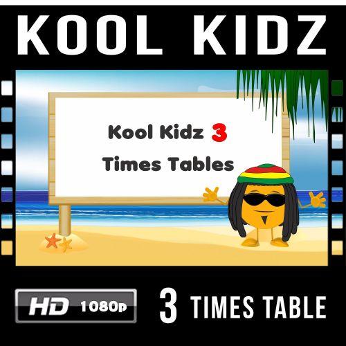 ✮ Kool Kidz 3 Times Table Video Download