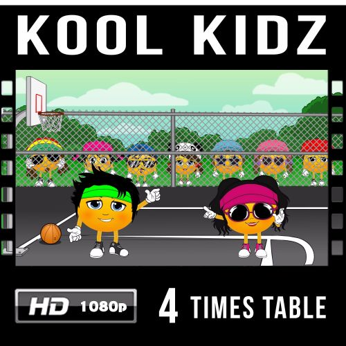 ✮ Kool Kidz 4 Times Table Video Download