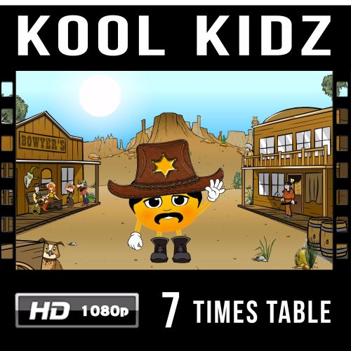 ✮ Kool Kidz 7 Times Table Video Download