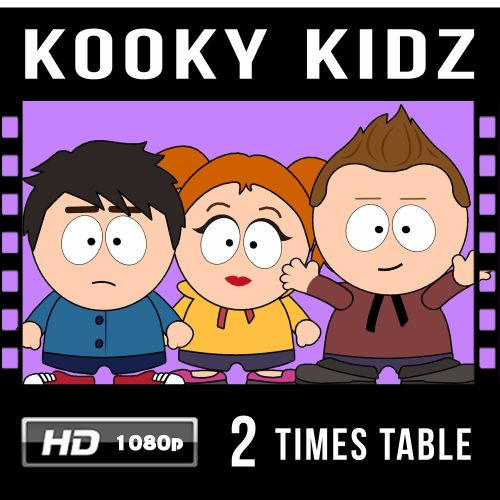 ✮ Kooky Kidz 2 Times Table Video Download!