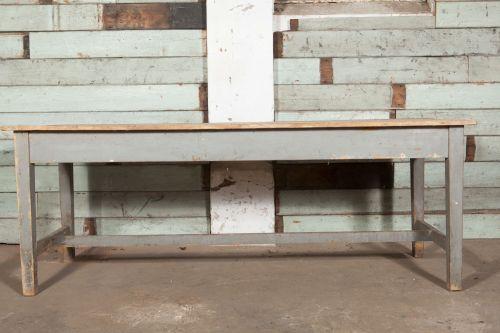 Scrub top kitchen table