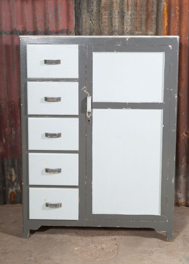 Grey Cupboard