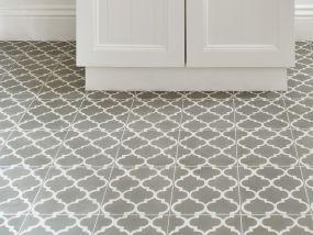 Encaustic Tile ~ Trellis