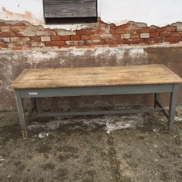 Grey legged table