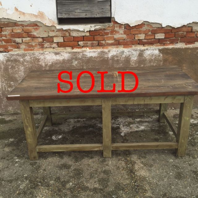 SOLD Dark stained top