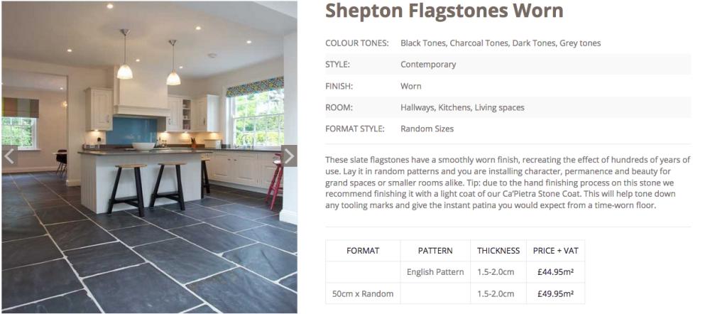shepton flagstones worn