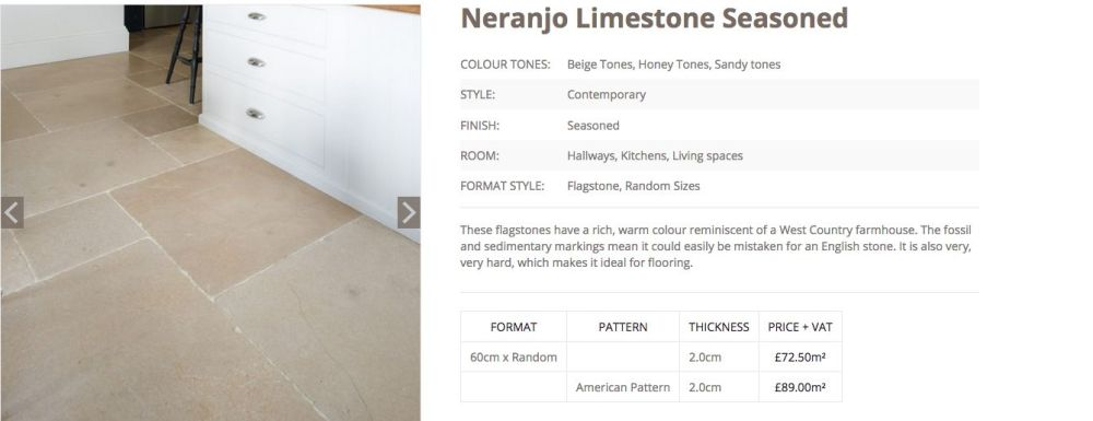 Neranjo Seasoned Limestone