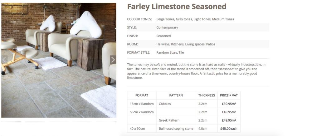 Farley limestone seasoned woodstoneuk