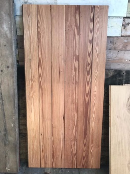 Reclaimed Pitch Pine Strip Flooring per m2