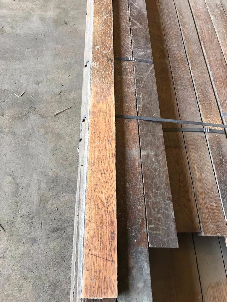 Reclaimed English Oak Strip Flooring