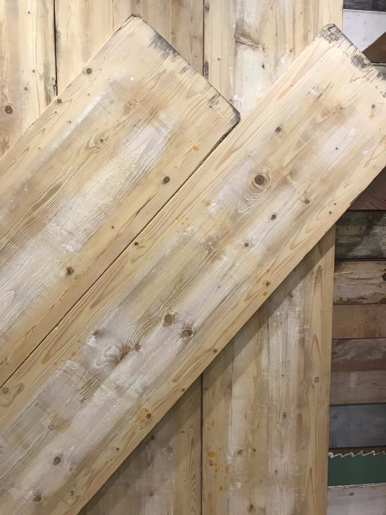 Super Wide Reclaimed Cheeseboard Planks