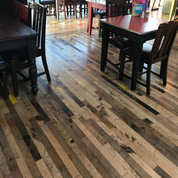Reclaimed Strip Hardwoods
