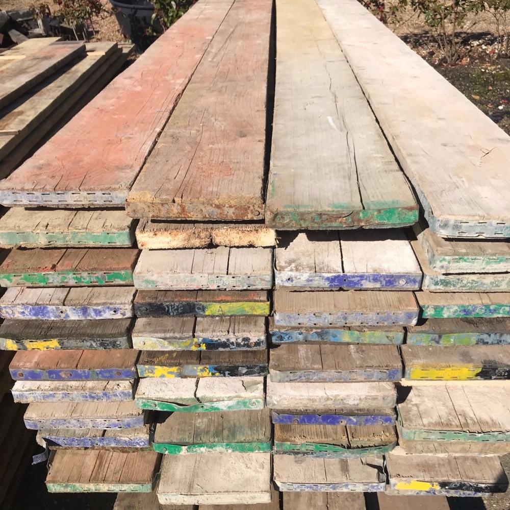 9ft Reclaimed Scaffold Boards