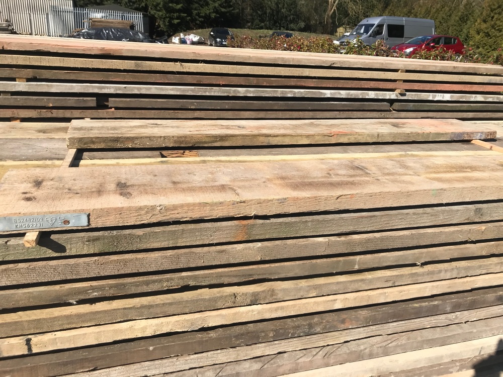 8ft Reclaimed Scaffold Boards