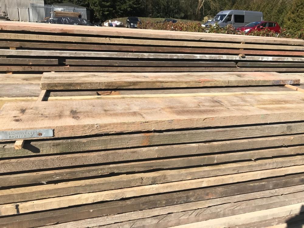 8ft Reclaimed Scaffold Boards