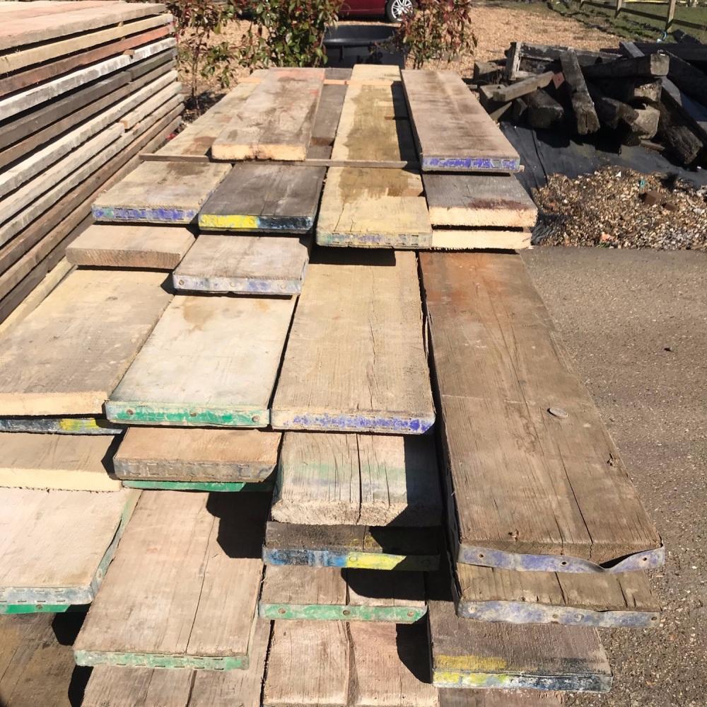 12ft Reclaimed Scaffold Boards