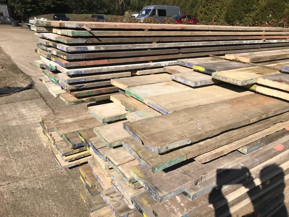 11ft Reclaimed Scaffold Boards