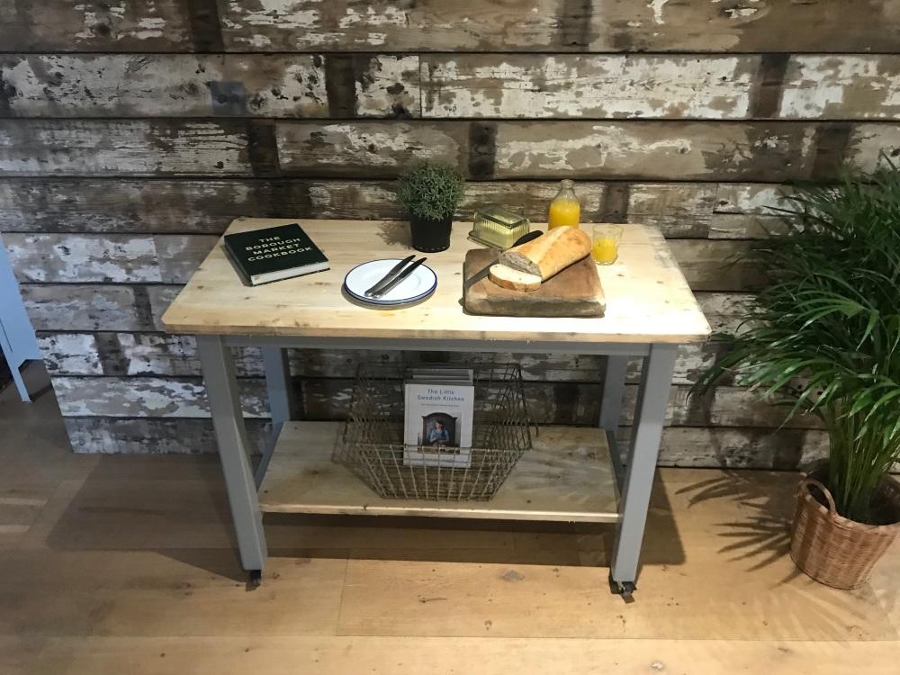 Reclaimed Kitchen Island / Work Space