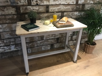 Reclaimed Kitchen Island / Work Space