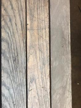 Reclaimed Wide American Oak Strip 35m2 Bundle