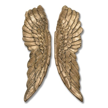 Extra Large Gold Angel Wings