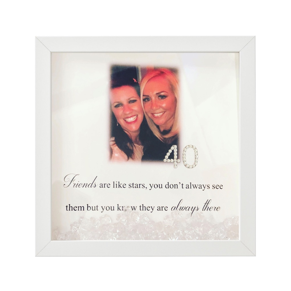 Personalised Friend & Quote Frames