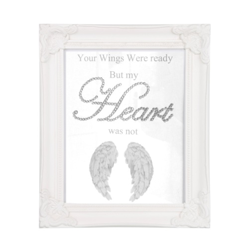 Your Wings Were Ready But My Heart Was Not Feather Wings