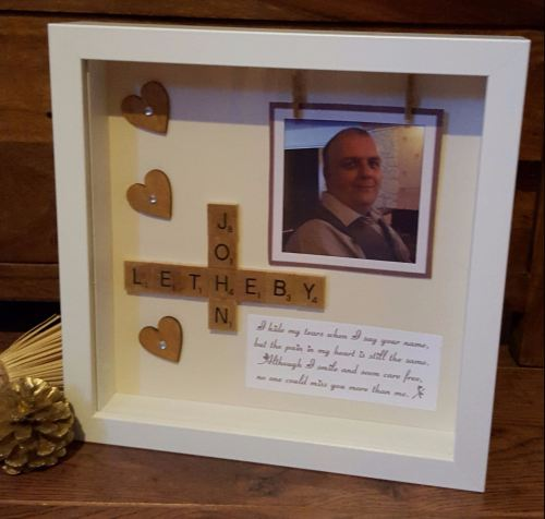 lost loved one frame and verse, personalised handmade lost loved one ...