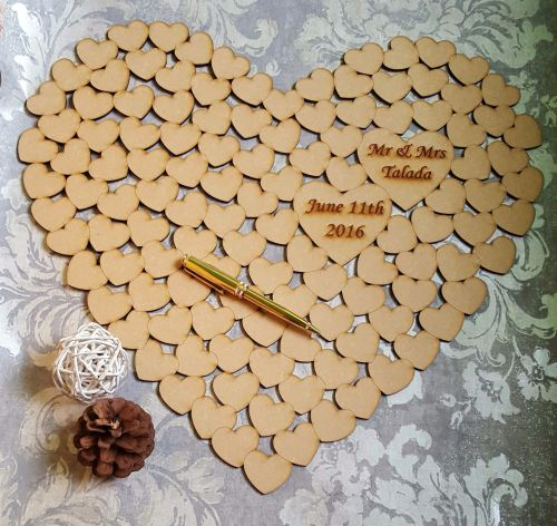 Heart Of Hearts Wedding Guest Book