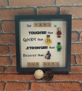 Our Hero Lego Frame